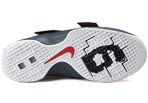 obsidiana blanco Hombre De Nike Universidad rojo Zapatillas Lebron Baloncesto gs Soldado Negro 10 wxzUaqB