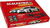 Scalextric-C10256S500 Circuito Pistas Tornado Chase Color Rojo Scale Competition Xtreme C10256S500