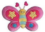 Kuscheltier Schmetterling Butters Plüschtier 40 x 25 cm Butterfly Baby Plüschtier Figur