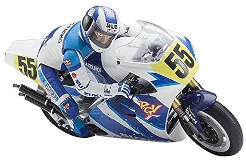 Kyosho Moto Hanging On Racer Suzuki RGV 1992Kit 34931b