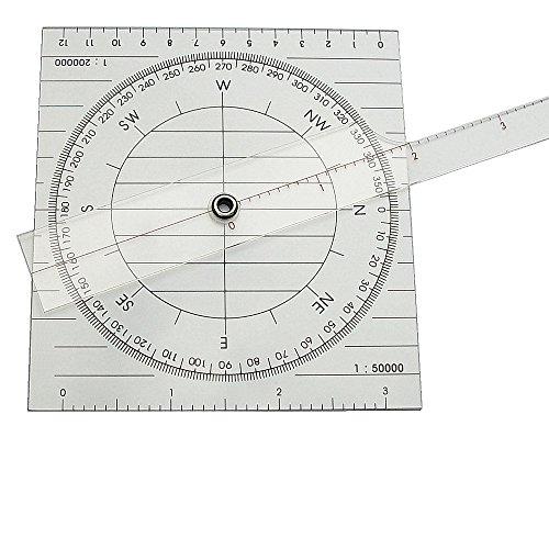 Unbekannt Kurslineal (Plotter), 44 cm