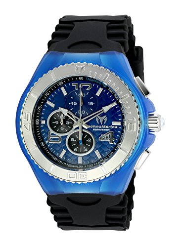 TECHNOMARINE MEN'S CRUISE JELLYFISH 46MM BLACK SWISS QUARTZ WATCH TM-115114