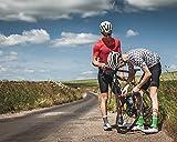 Mini Fahrradpumpe mit Manometer für Presta & Schrader Ventile- Hoher Druck bis 8,3 Bar - zuverlässig, kompakt & leichte Rahmenpumpe mit Druckmessgerät - Pumpe für Rennrad, Mountainbike (Titan) für Mini Fahrradpumpe mit Manometer für Presta & Schrader Ventile- Hoher Druck bis 8,3 Bar - zuverlässig, kompakt & leichte Rahmenpumpe mit Druckmessgerät - Pumpe für Rennrad, Mountainbike (Titan)