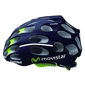 Catlike FA003440106 Casque de vélo Mixino équipe Movistar 52-54 cm