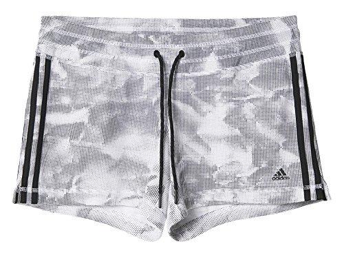 adidas AJ4685 Short Femme Blanc/Noir