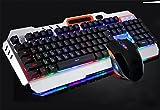 YY Mécanique clavier tactile souris jeu rétro-éclairage jeu souris clavier câblé , b...