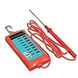 ILS - Tester elettrico tensione recinto tenuto in mano 600V a 7000V strumento giardino misura tensione