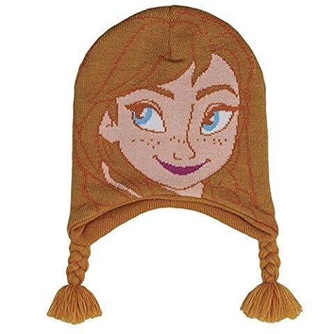 réf4b78Lic. 241–Peruvian Hat One Size–Disney Frozen Anna Braids–Officially Licensed