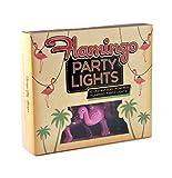 Flamingo Party Lichterkette. 10LED 's. Sehr Kitsch - 2