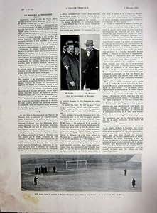 Impression 1934 de Français de Guebin Bonnaure Bayonne Hesse Beineix