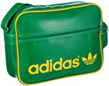 Adidas Retro-Umhängetasche Adicolor Airliner, grün gelb, 38x28x12 cm, 16 liters, 331300000105