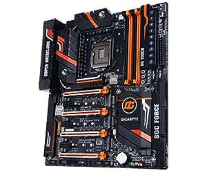 Gigabyte Z170X-SOC FORCE Overclocking Motheboard LGA1151/Intel Z170 Chipset/DDR4/USB Type C/USB 3.1/ Extreme 4-Way SLI-Crossfire/OC Harware Panel/M.2 x 4 Connectors