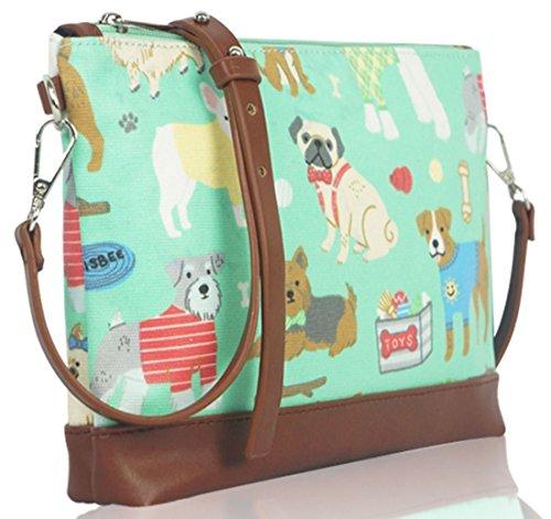 Kukubird Cane Mixed Mini Cross Body Bag Con Sacchetto Di Polvere Di Kukubird Green