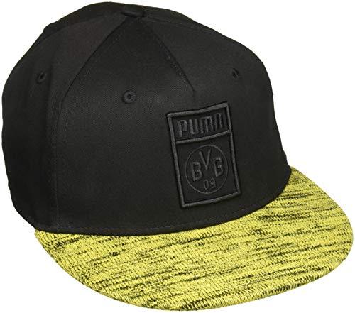 PUMA BVB Flatbrim Cap Kappe, Black, OSFA