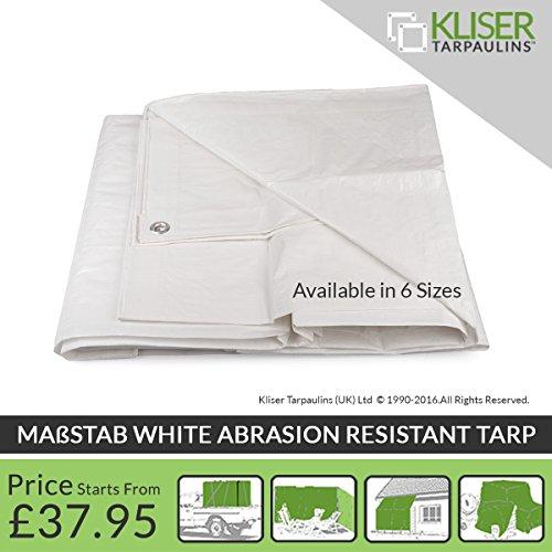 kliser-massstab-white-abrasion-resistant-tarp-rainproof-rot-shrink-proof-mildew-uv-resistant-standar