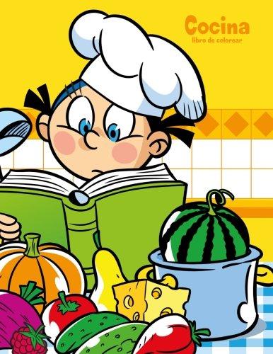 Cocina libro de colorear 1: Volume 1 por Nick Snels