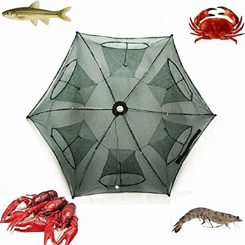 RUNGAO Piège à pêche Filet de pêche pliable...