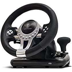 Spirit Of Gamer Volante Race Wheel Pro 2 - Conjunto de simulación con Palanca de Velocidad (Compatible con PC/Playstation 3/Playstation 4/Xbox One)