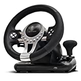 Volant Spirit of Gamer Race Wheel Pro 2 - Ensemble de Simulation avec Levier de Vitesse (Compatible PC/Playstation 3 / Playstation 4 / Xbox One)