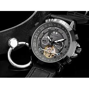 51%2BZK4vE4TL. SS300  - Calvaneo-12544-Reloj-para-hombres-correa-de-cuero-color-negro