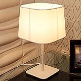 E27 Lampada da Tavolo Bianco Lampade ad Incandescenza Camera da Letto Comodino Lampada soggiorno Decorativa Lampada Lettura