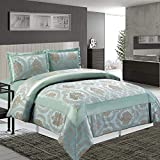Lujoso 3 pedazo mayor calidad jacquard cubrecamas acolchados ( Betty / Doble / Nuez moscada ) excelente suavidad y fluidez, así como mayor durabilidad edredón conjuntos de ropa de cama, cortinas a juego y cojines están también disponibles