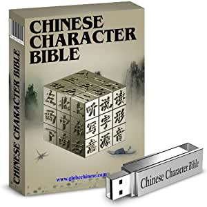 Imparare i caratteri cinesi - Chinese Character Bible 10 on a USB Stick
