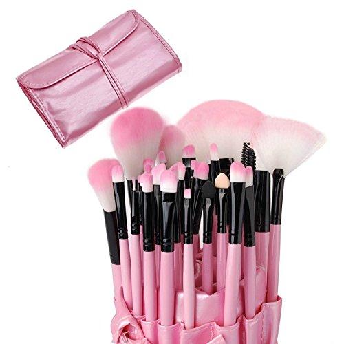 Make-up Pinsel-Set professionellen Kosmetik Set Kit Foundation Puder Lidschatten Face Powder Blush...