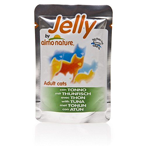 ALMO NATURE Jelly thon chat gelée 70 gr - Aliment humide chat