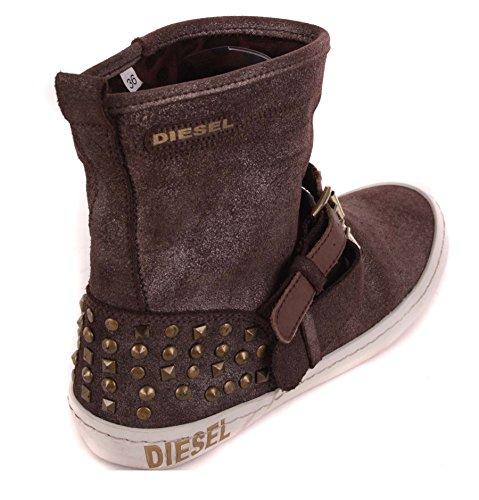 Diesel chaussures bottes bottines femme#80 marron marrón - marrón