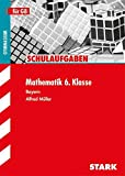 Schulaufgaben Gymnasium - Mathematik  6. Klasse