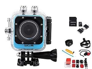 SJCAM M10 + Wifi Mini DV Full HD 2K(2560*1440) 1080p 60 fps 12MP Novatek 96660 plongée 30M casque PC Action Sports caméra caméscope +8 en 1 Accessoires +carte de TF carte mémoire de 32 Go