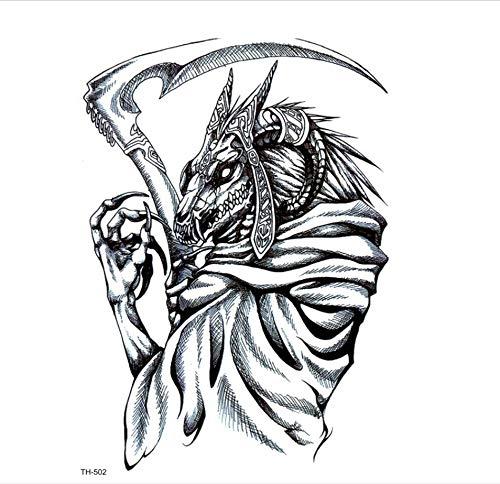 Autoadesivi del tatuaggio del tatuaggio del tatuaggio di arte del manicotto del tatuaggio del corpo del tatuaggio del tatuaggio degli uomini del tatuaggio temporaneo degli uomini di dragon guardia