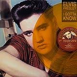 (Ltd120) Elvis Presley, I Gotta Know, clear Orange Vinyl