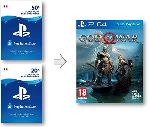 Crédit PSN pour God of War 4 | Code Jeu PS4 - Compte français