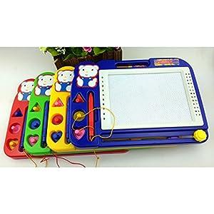 Newin Star Lavagnetta Magnetica Disegno Pittura Cancellabile Colorful Doodle Giocattoli Scarabocchio per Bambini(Colore casuale)