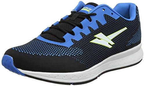 Gola Zenith 2, Running Homme Noir (Black/blue/volt Be)