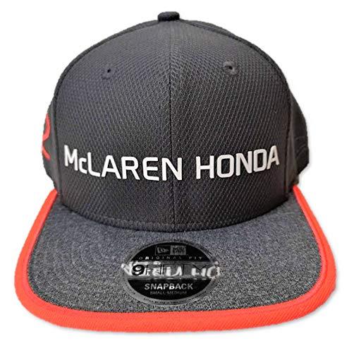 McLaren Honda F1 Team Vandoorne - Gorra de Ajuste Plano nº 2, Color G