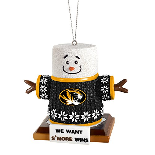Forever Collectibles NCAA Missouri Tigers Missouri Smores Ornament