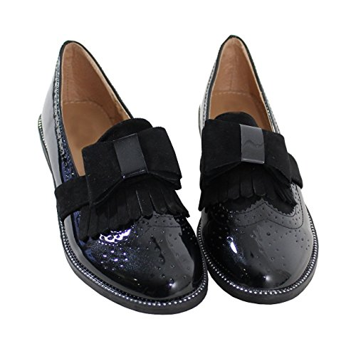 By Shoes Mocassini Donna Nero