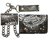 Jack Daniels Geldbeutel mit Kette Daniel's Old No.7 Brand Geldbörse