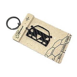BlackStuff Giulietta Carbon Fiber Keychain Keyring Ring Holder BS-130