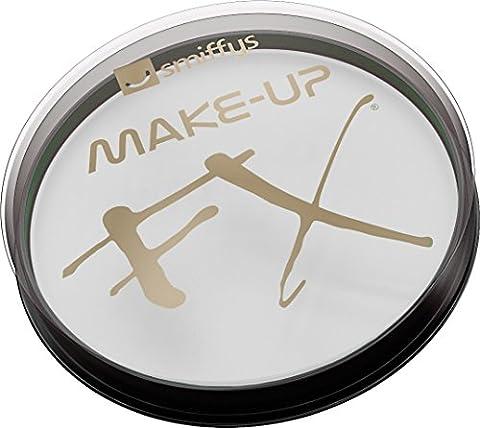Smiffy's Make-Up FX Aqua Gesichts- und Körperfarbe Weiß 16ml Wasserbasierend, One Size