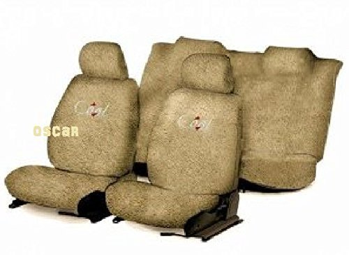 OSCAR-Car Seat Cover Towel Type (Beige) for Maruti Suzuki Celerio