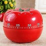55Minuten mechanische Küche Kochen Timer Uhr lauter Alarm Tomato