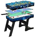 Table de jeux de bar Multijeux 4 en 1 pliable - DevesSport