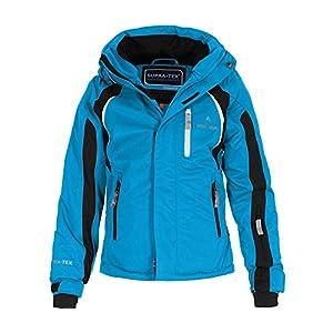 Bergson Kinder Skijacke Jens – wasserdicht, Winddicht, atmungsaktiv, warm, Wassersäule: 12000 mm, Atmungsaktivität: 12000 g/qm/24Std