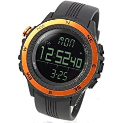 [LAD WEATHER] Sensor Master Digital Compass Altimeter Barometer Chronograph Alarm Weather Forecast Stop Watch Sports Watches Back Light