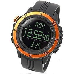 [LAD WEATHER] Sensor Master Digital Compass Altimeter Barometer Chronograph Alarm Weather Forecast Stop Watch Sports Watches Back Light