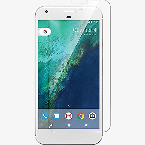M.G.R.J Google Pixel XL Tempered Glass Screen Protector with 0.3mm Ultra Slim 9H Harness, 2.5D Round Edge, Crystal Clear & Alcohol Prep pad  available at amazon for Rs.139